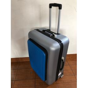 62b0c9414 2 Valijas Medianas Rigidas Con Ruedas Color Azul Oscuro - Equipaje y ...