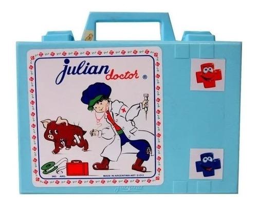 valijita de julian doctor completa con estetoscopio