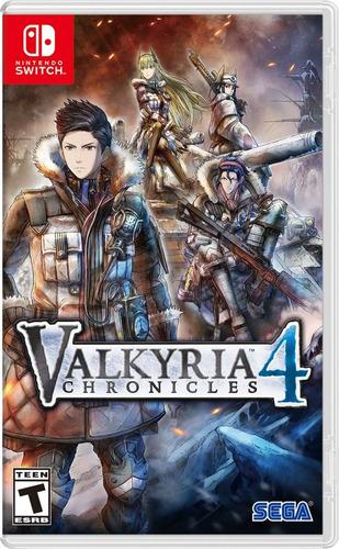 valkyria chronicles 4 - nintendo switch - standard edition