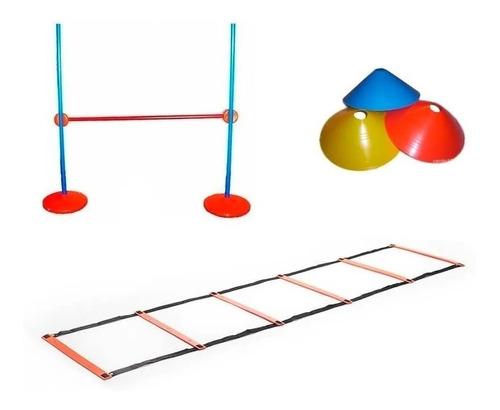 valla + escalera + conos set kit de coordinacion cuerpos did