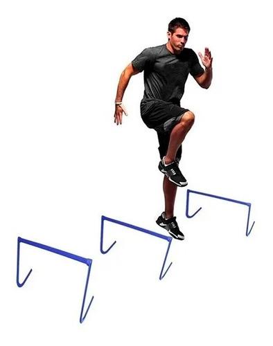 valla fija 30 cm entrenamiento desarmable curva trasladable