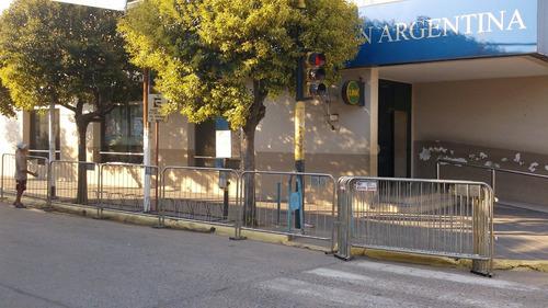 vallado  de seguridad  convencional , ciego y free standing