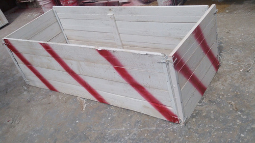 vallas de madera para obras en la calle de super oferta !!!!