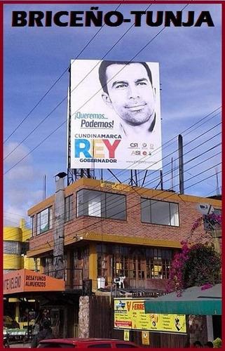 vallas publicitarias arrendamiento y venta