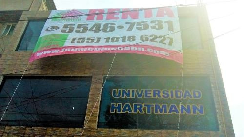 valle de aragón 3ª. sección edificio comercial en renta ecatepec edome