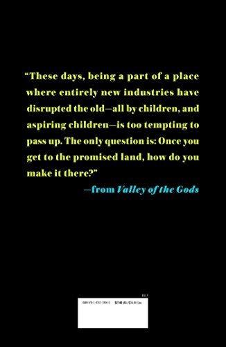 valle de los dioses una historia de silicon valley