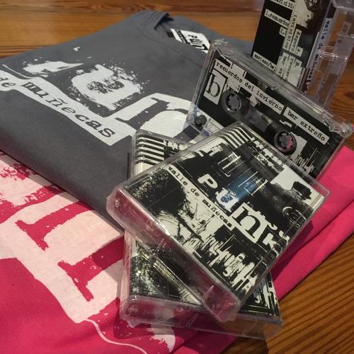 valle de muñecas - punk - combo cassette + remera - ed.ltd.