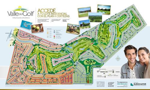 valle del golf - fondo al golf