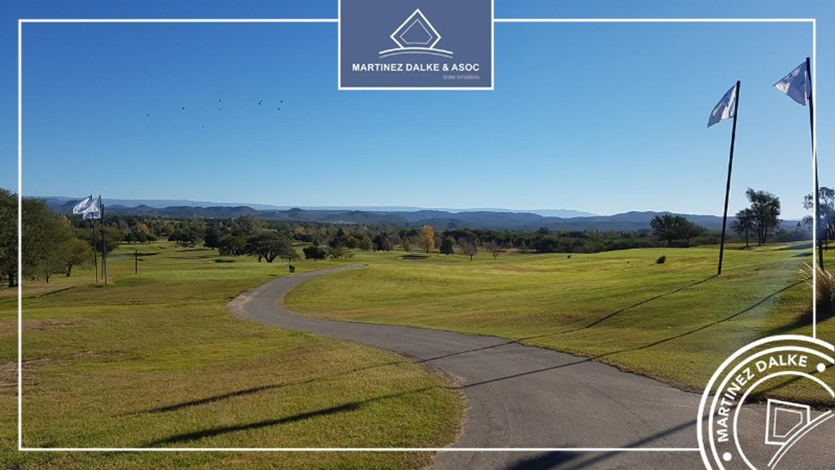 valle del golf - lote muy lindo esquina 480m2