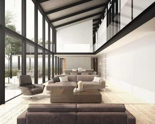valle santana, valle de bravo, increible casa con acabados de lujo.