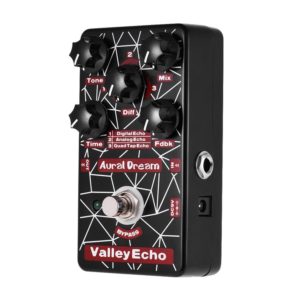 Valley Echo Pedal De Efecto De Guitarra 3 Modos De Eco