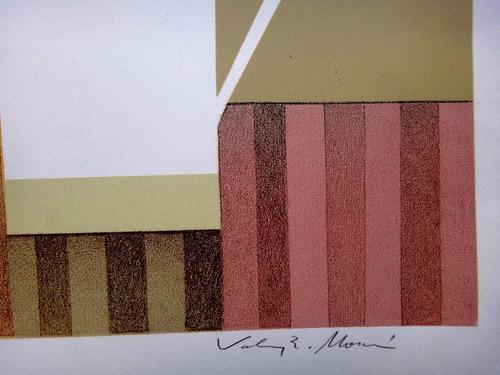 valmy rocha morais - composição - sofisticada litografia