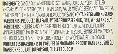 valor diario de 365, mayonesa orgánica (botella exprimible),