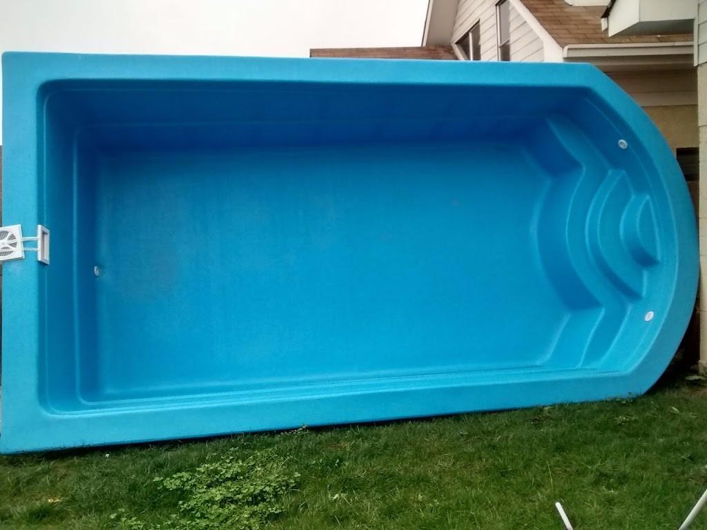 Valor piscina fibra de vidrio 5 5 x 2 9 mts instalada for Estanques de fibra de vidrio