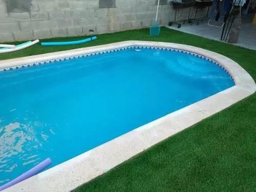 Valor piscina fibra de vidrio 5 5 x 2 9 mts instalada for Cuanto sale hacer una pileta de material