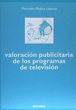 valoración publicitaria de los programas de televisión(libro