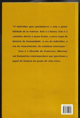 valores (reflexões) - francesco alberoni - ed. rocco