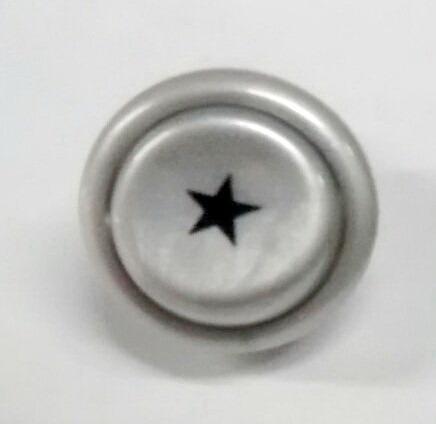 valper perilla boton pulsador cocina patrick color gris
