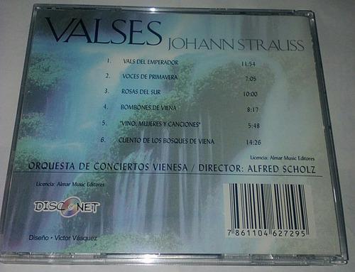 valses - johann strauss. cd.original