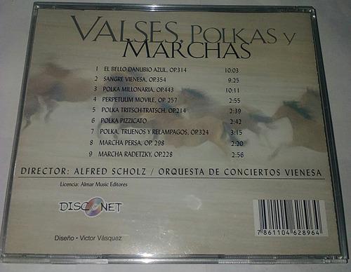 valses, polkas y marchas. cd.original