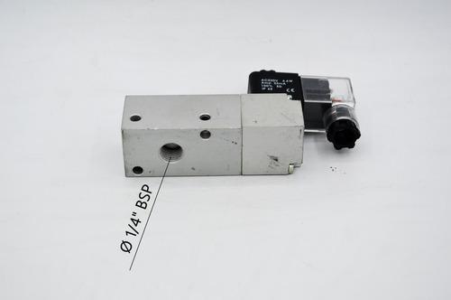 válvula 1/4 geradora de vácuo c/ solenoide 220v - romak