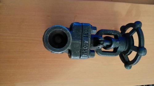 válvula 3/4 de alta presión de acero al carbón
