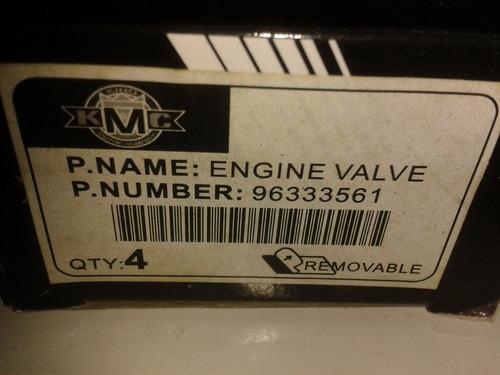 valvula admision chevrolet aveo m-1.6 96333561**
