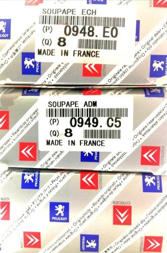 válvula admisión escape centauro 1.6 peugeot 206 207 307 s30