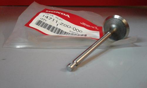 válvula admisión estacionario gx100 original honda guillon
