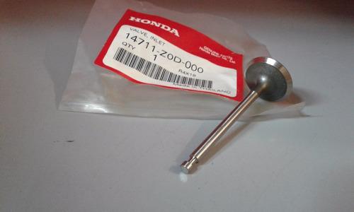 válvula admisión estacionario gx100 original honda pf