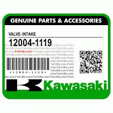 valvula admision kawasaki 12004-1119 ltd454