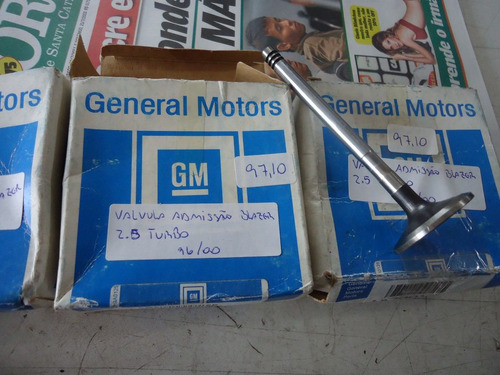 válvula admissão blazer 2.5 turbo 96 97 98 original 70910053