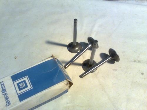 valvula admissão chevette 73/94 sob medida + 0,75 mm 4 peças