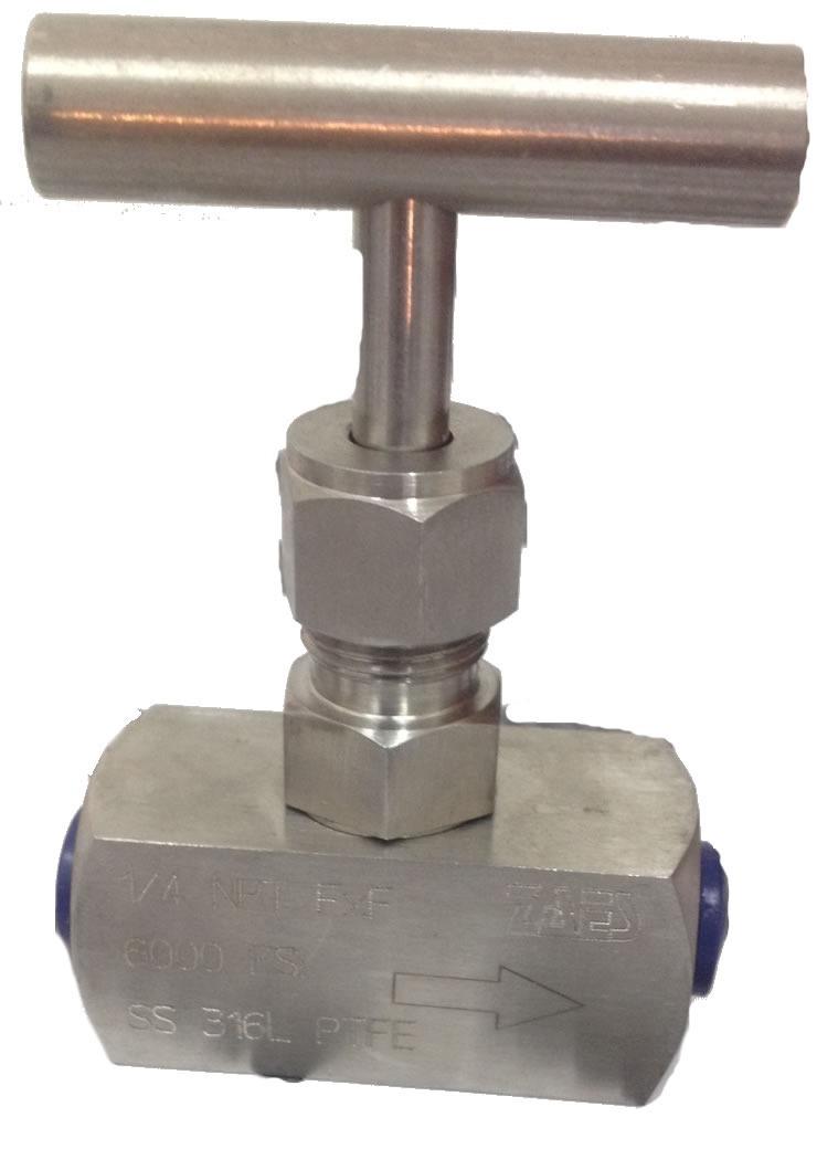Válvula de aguja-Bar Stock 6000 Psi