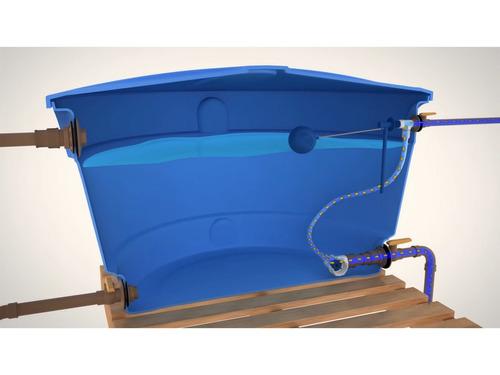 válvula alternadora de pressão blukit para caixa d'água