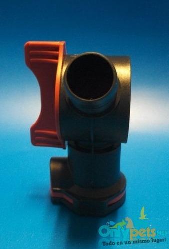 valvula aquastop filtro fluval fx5