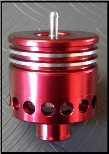 válvula blow off  para turbo original de fabrica -vermelha