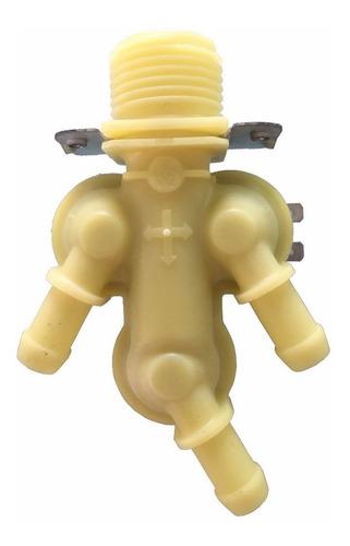 válvula carga agua 3 vías @ 110 v. lavadoras cissell, ipso