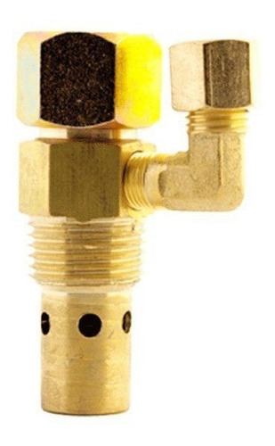 válvula check (alivio) flare lineal para compresor 1/2 x 1/2