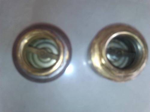 válvula checker vertical de bronce
