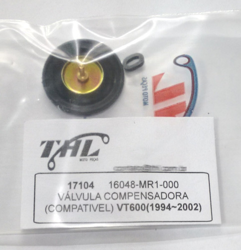 válvula compensadora do carburador para shadow 600 (94-02)