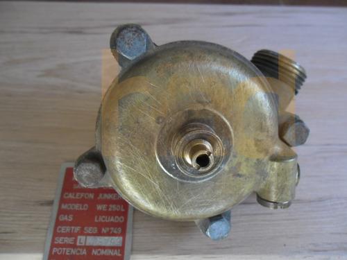 válvula de agua calefón junkers we 250 l