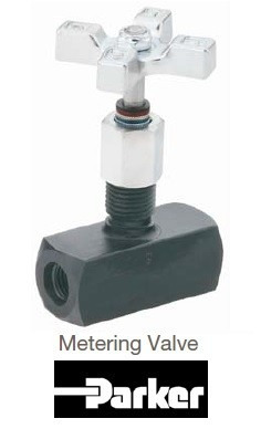 valvula de aguja alta precisión parker mv400s 5000 psi 1/4