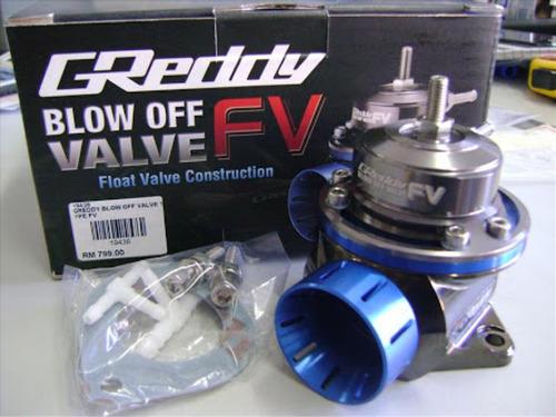 valvula de alivio blow off  greddy fv turbo universal sonido