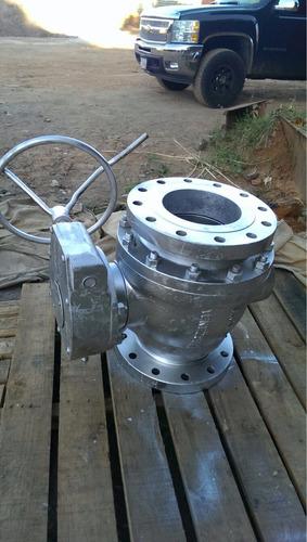 valvula de bola extremos bridados, cierre rápido, 8  300 psi