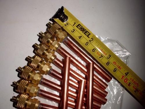 valvula de carga con gusanillo 1/4   soldable