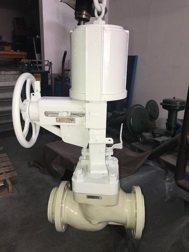 valvula de control valtek 4 pulgadas 150 libras acero inox