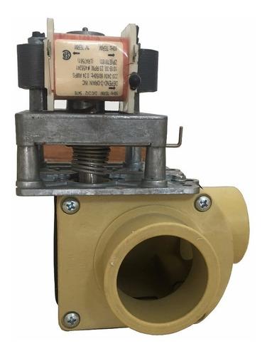 válvula de drenaje 2 x 90° @ 220 v. lavadoras cissell, ipso