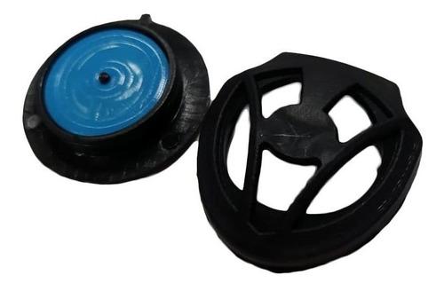 válvula de exhalación 3d shield tapabocas
