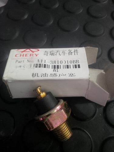 valvula de presión de aceite para chery arauca, original